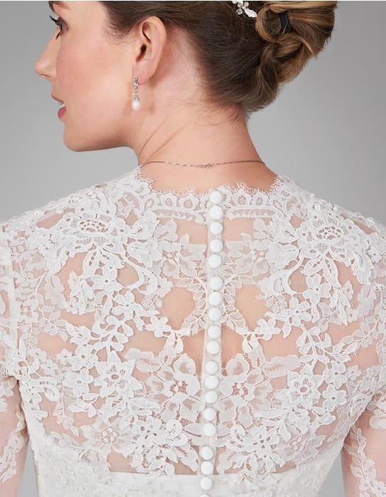 nina aline wedding dress back crop anna sorrano