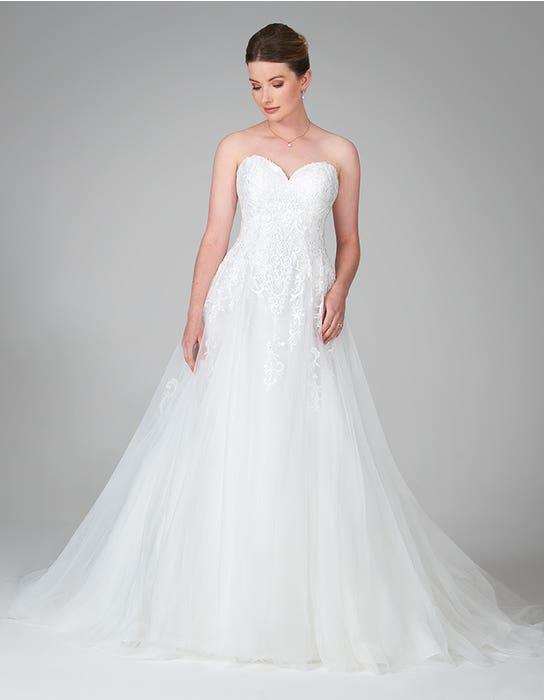nina aline wedding dress front anna sorrano