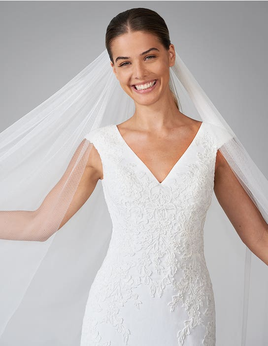 orra sheath wedding dress front crop anna sorrano