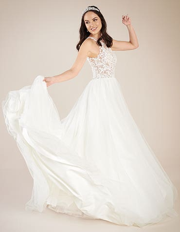 presley ball gown wedding dress back2 viva bride th