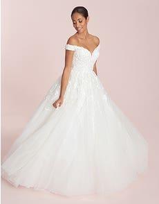 Raina - a luxury shining ballgown