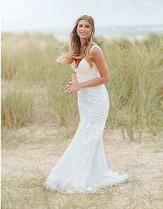 Richmond - a traditional tulle and lace gown