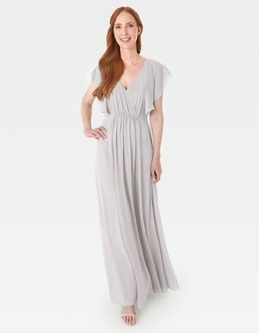 Rosa - A modern draped bodice with lightweight angel sleeves
