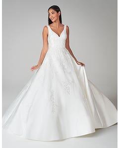 Rosalynn - a magical mikado A-line wedding gown
