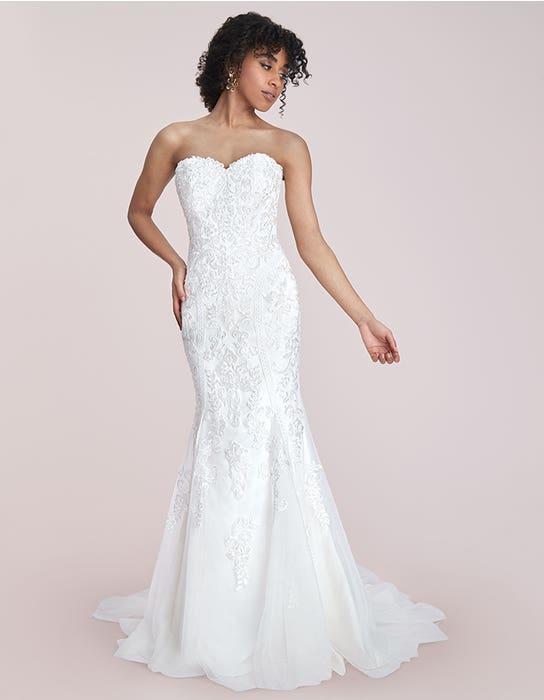 sacha fishtail wedding dress front viva bride