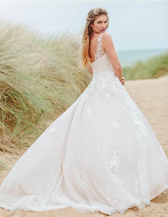 sharisse aline wedding dress back edit viva bride