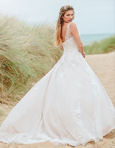 sharisse aline wedding dress back edit viva bride th