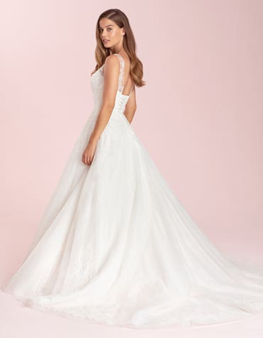 sharisse aline wedding dress back viva bride th
