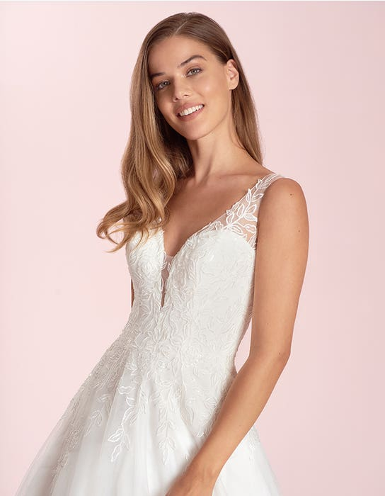 sharisse aline wedding dress front crop viva bride