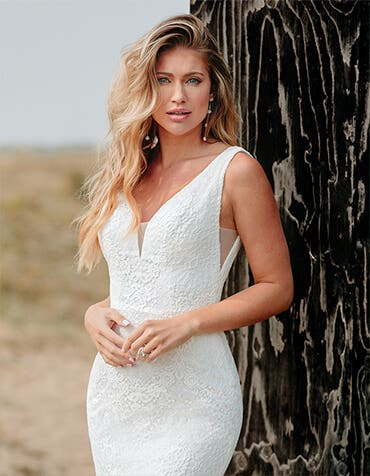 sian sheath wedding dress front crop edit heidi hudson th