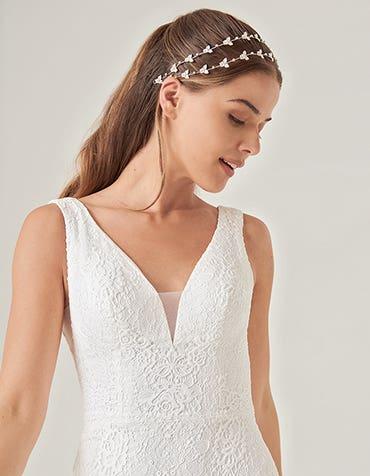 sian sheath wedding dress front crop heidi hudson th