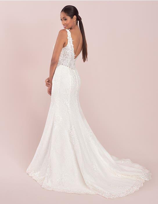 stevie sheath wedding dress back viva bride