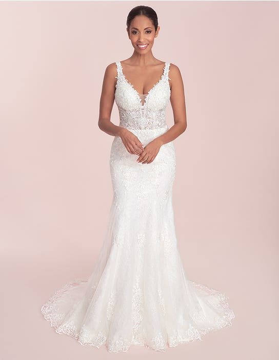Stevie - a sparkling chantilly lace gown   WED2B