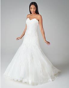 Suzette - ein bezauberndes Brautkleid im Fit & Flare
