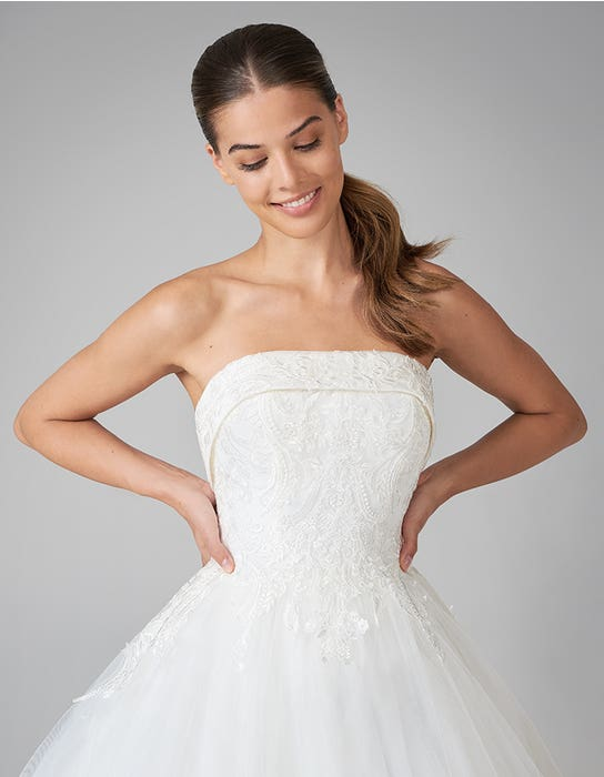 theodora ballgown wedding dress front crop anna sorrano