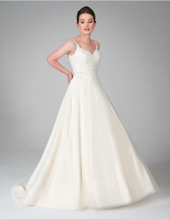 tove oyster aline wedding dress front anna sorrano