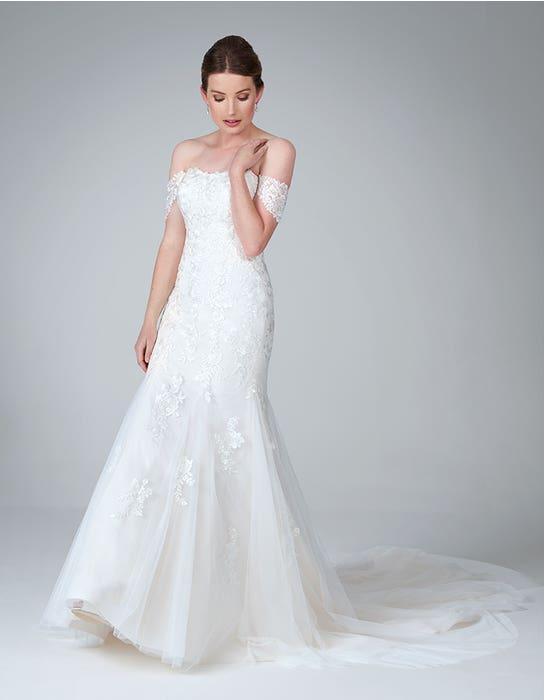 winona fishtail wedding dress front anna sorrano