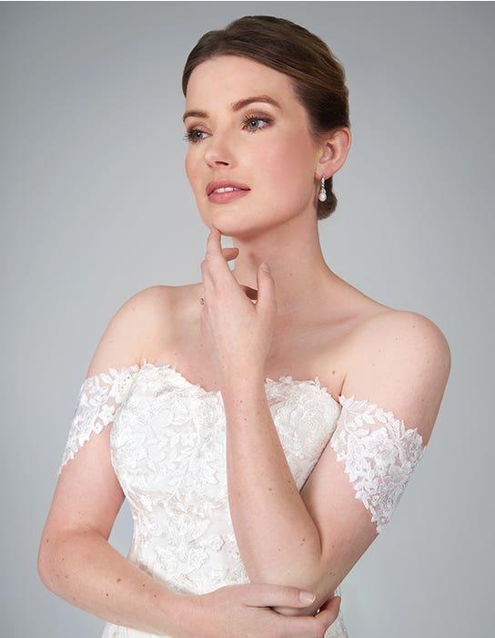winona fishtail wedding dress front crop anna sorrano