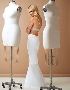 Wunderskirt Lowback Soft Tulle - Smoothing shapewear underskirt