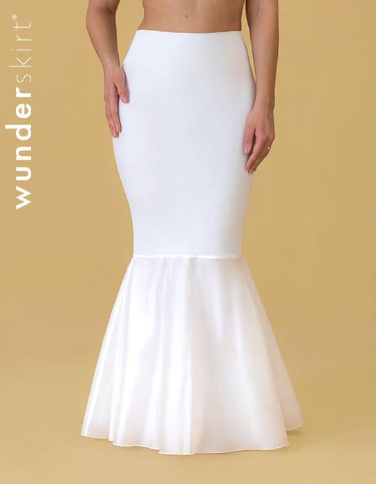 Wunderskirt Lowback Soft Tulle - glättender Shapewear-Unterrock