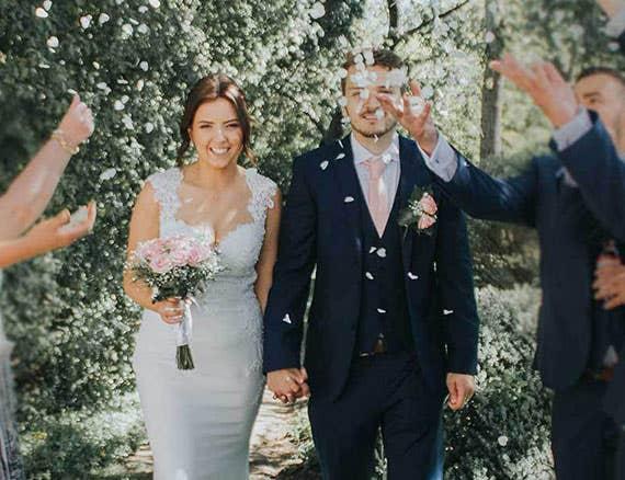 Echte bruiden