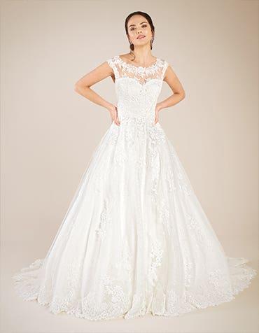 Adorable A-line wedding dresses