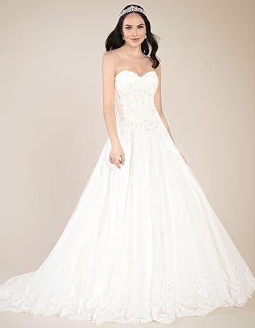 Adorable vintage bridal gowns