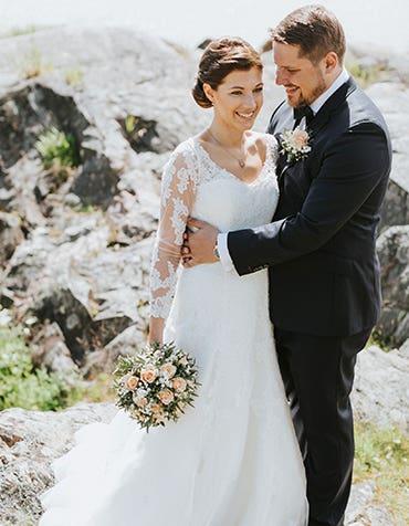 Anna And Christopher's Island Wedding