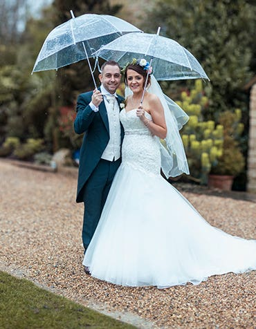 Clare And Dean's Fabulously Floral Big Day