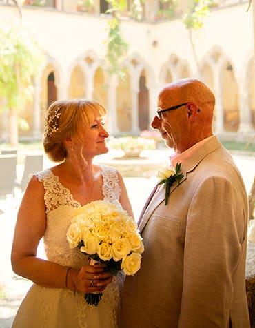 Elizabeth and Mark's idyllic destination wedding