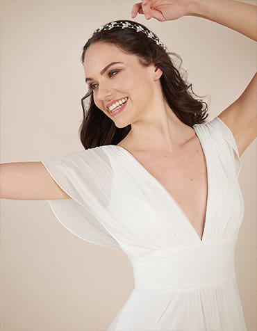 Heidi Hudson gowns in store to try on today