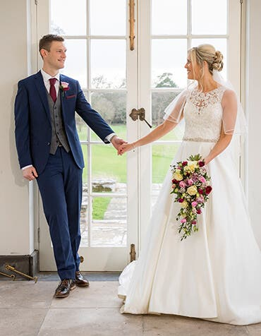 Leanne and Tom's beautiful classic wedding
