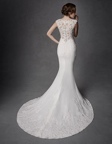 Looking for a totally unique wedding dress?