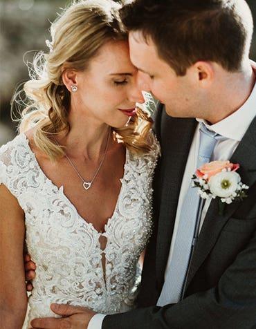 Magda And David's Intimate Destination Wedding