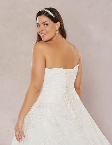 Plus size wedding dresses...