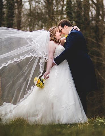 Real Wedding: Joanne and James's fun-filled wedding day