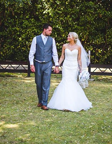 Real Weddings: Charlotte And Luke's Romantic Day
