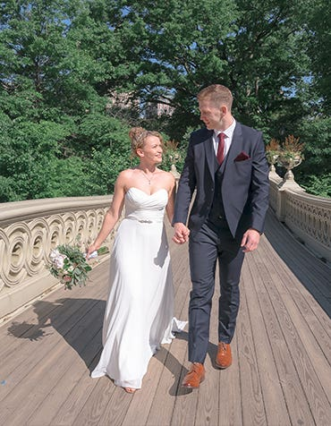 Real Weddings Liverpool: Joanna and Karl's intimate American wedding