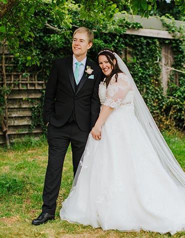 Real Weddings: Hayley and John's fun-filled Hertfordshire wedding
