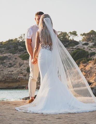 Real Weddings: Sophie and Robert's sunny Ibiza wedding