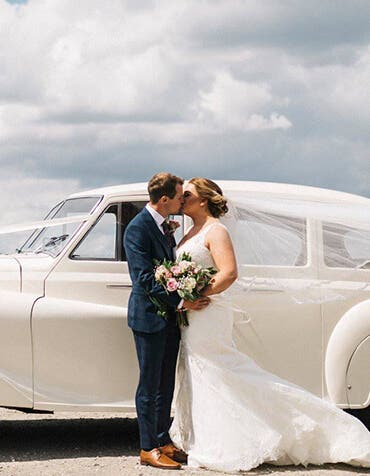 Real Weddings Gateshead: Rebecca and Tom's beautiful but rainy wedding day