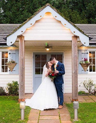 Ruby And Nicholas's Festive Small Wedding