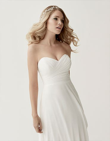 Simple wedding dresses with wow factor!