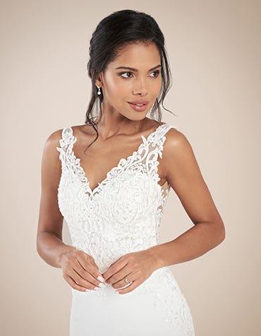 Stunning sheath wedding dresses