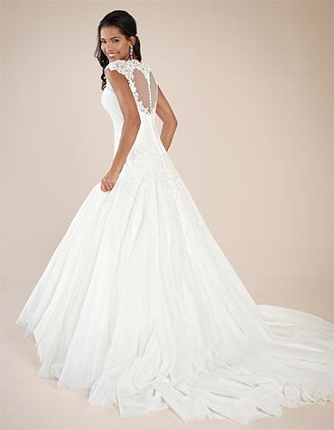 Three thoroughly modern princess wedding gowns...