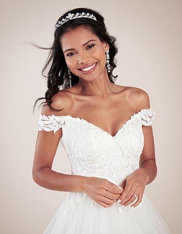 We love princess wedding dresses!