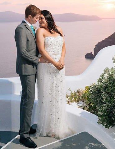 Zoe and Joseph's destination wedding