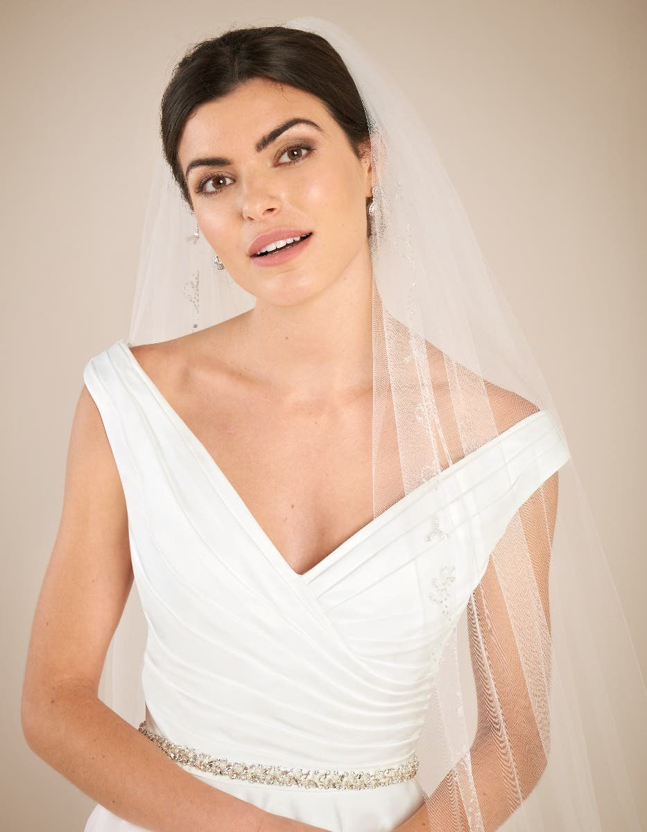 Revealed... The classic wedding dress of your dreams