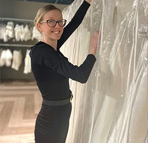 Bridal Sales Consultant - Caitlin