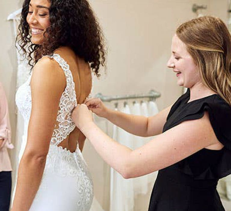 Take your dress home today